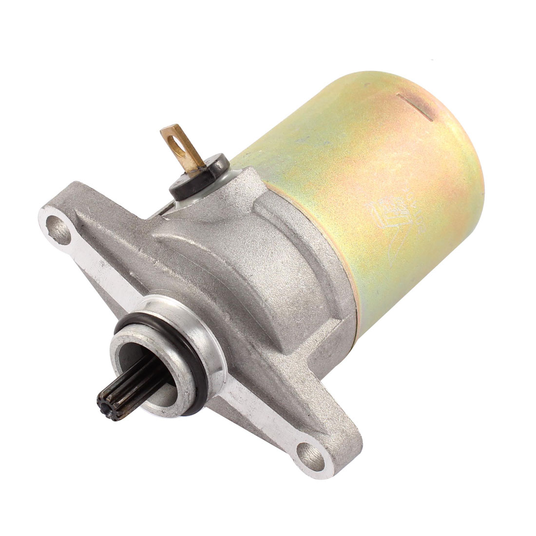 GY6 50 Bronze Tone Gray Motorcycle Scooter Engine Starting Starter Motor