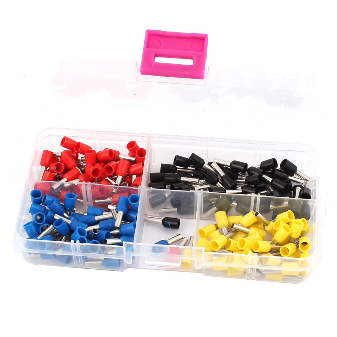 200PCS AWG14 Ferrule Terminal Wire Crimp Connector Cord Ends Assorted Set