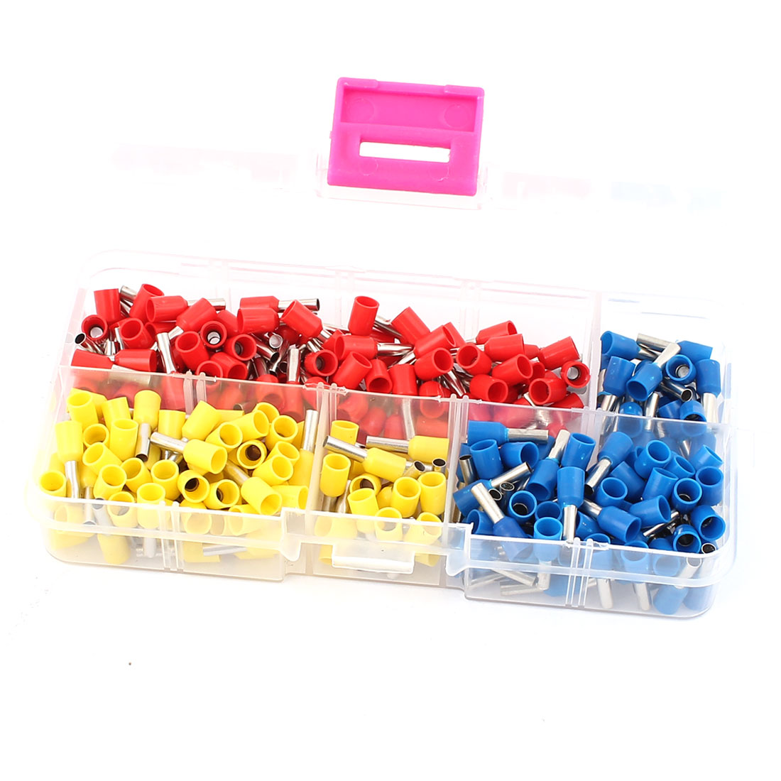 270PCS AWG14 Insulated Ferrule Pin Cord End Terminal Wire Copper Crimp Connector Assorted Set