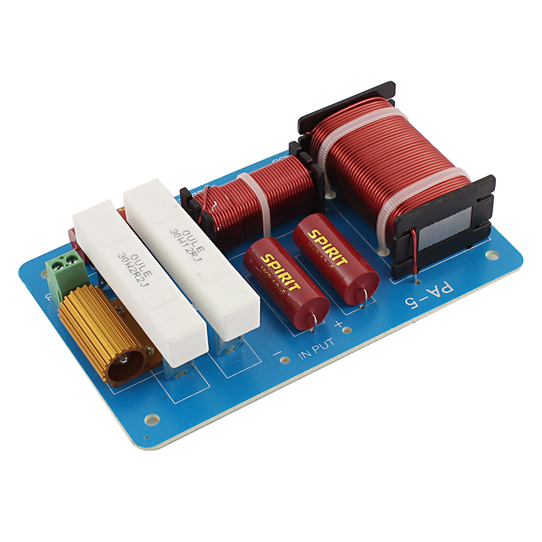 600W Crossover Filters Frequency Divider for 2-Way Speaker System Audio