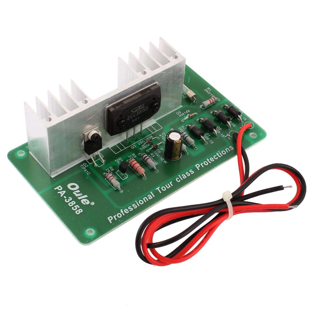 14.3cm x 8.3cm Metal Speaker Audio Protective Circuit Board for Vehicle