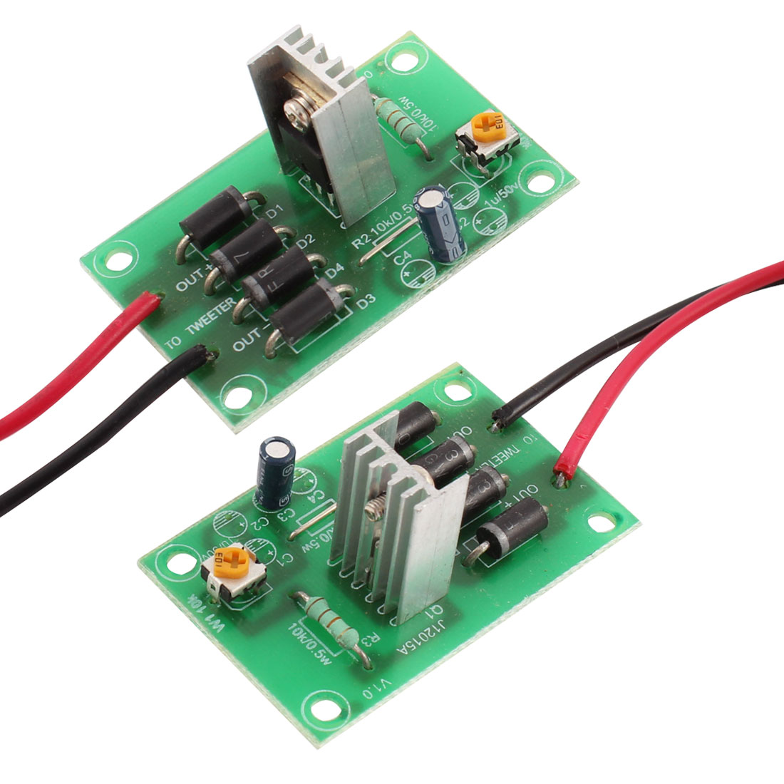 2 x Hight Power Speaker Audio Systerm Protective Protection Circuit Board for Car