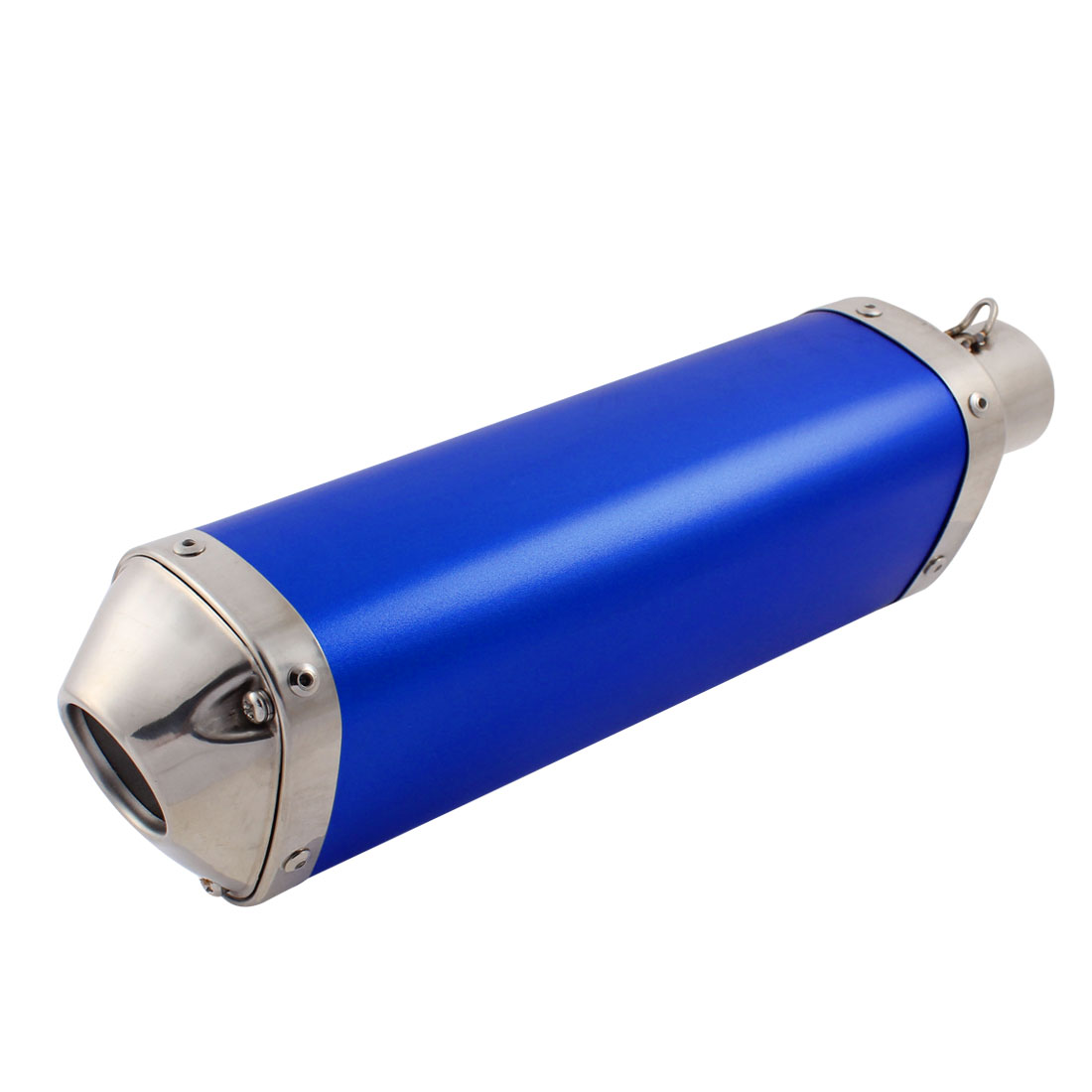 Blue Stainless Steel Exhaust Pipe Muffler Tip for Motorcycle Motorbike