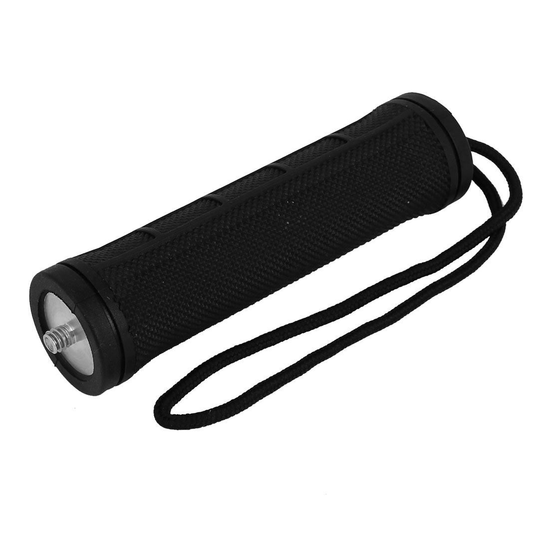Flashlight Handle Hand Grip Black w Strap for Compact Camera Camcorder