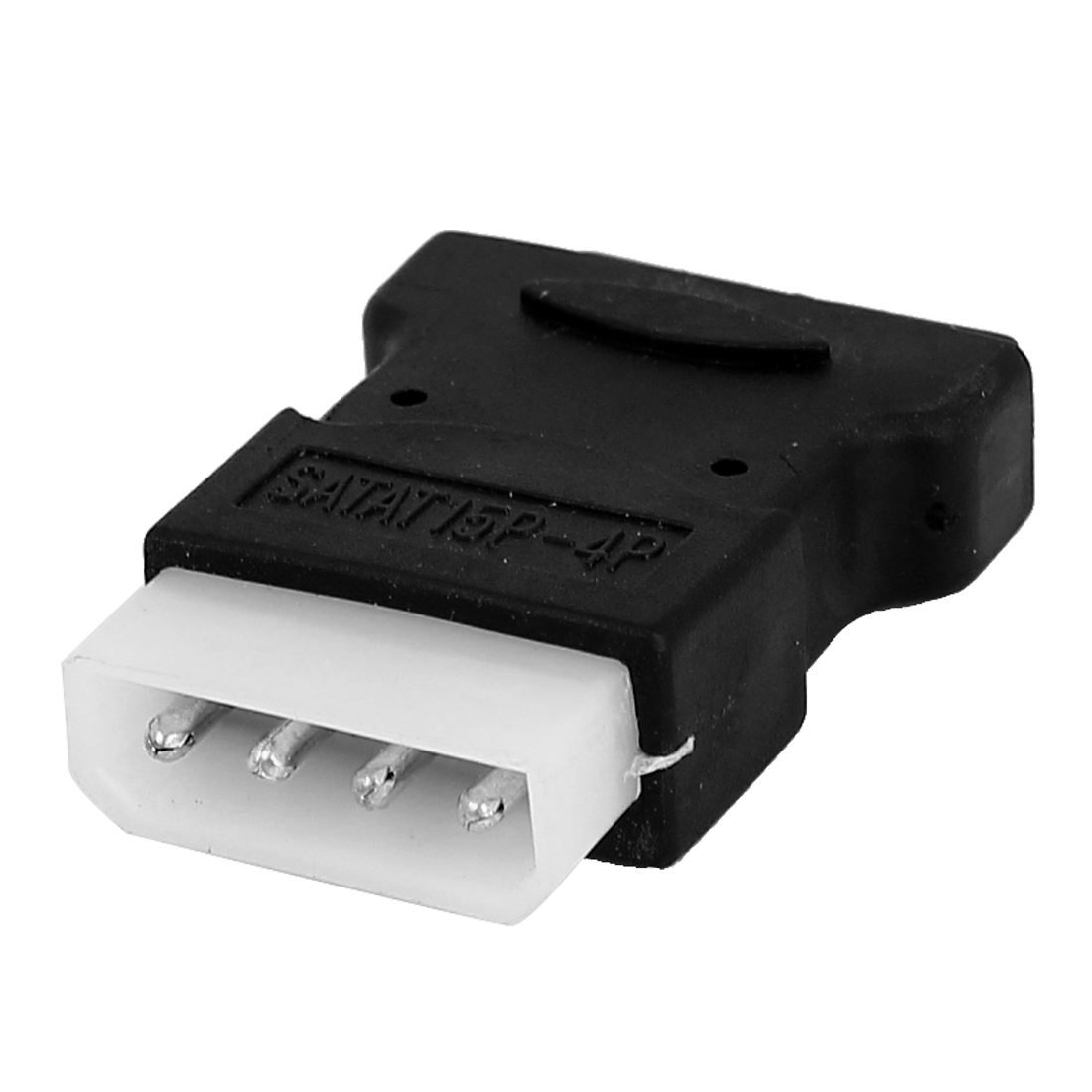 SATA IDE 4Pin Female to 15Pin Male Connector Converter Adapter