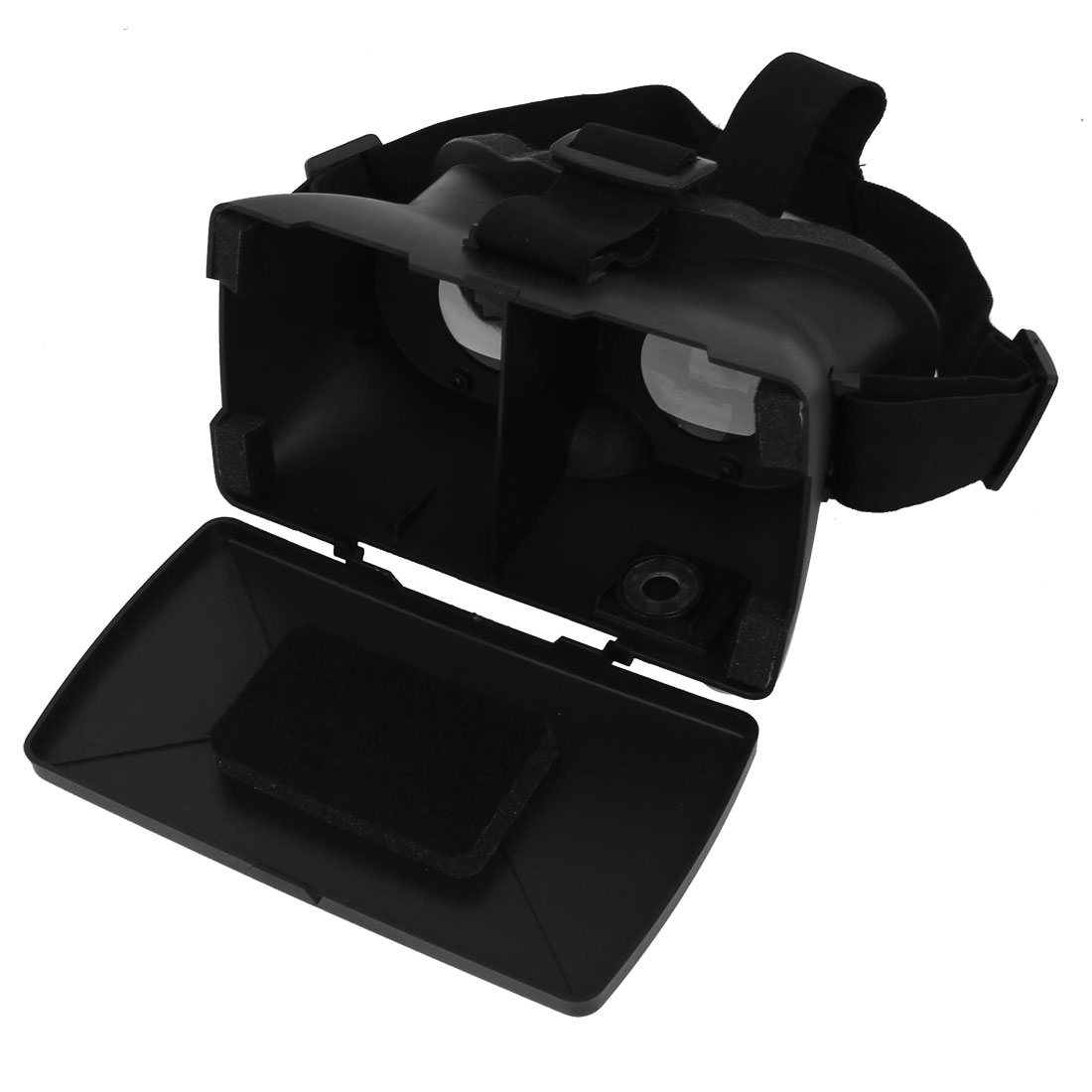 "Color Cross Universal Virtual Reality 3D VR Glasses Black for 4-6.5"" Smartphones"