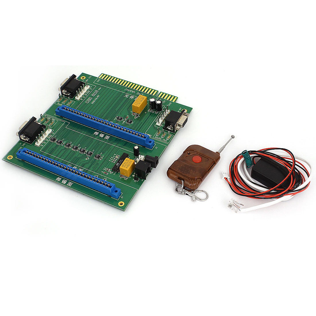 GBS-8118 Arcade Game 2in1 JAMMA Switcher PCB Remote Control