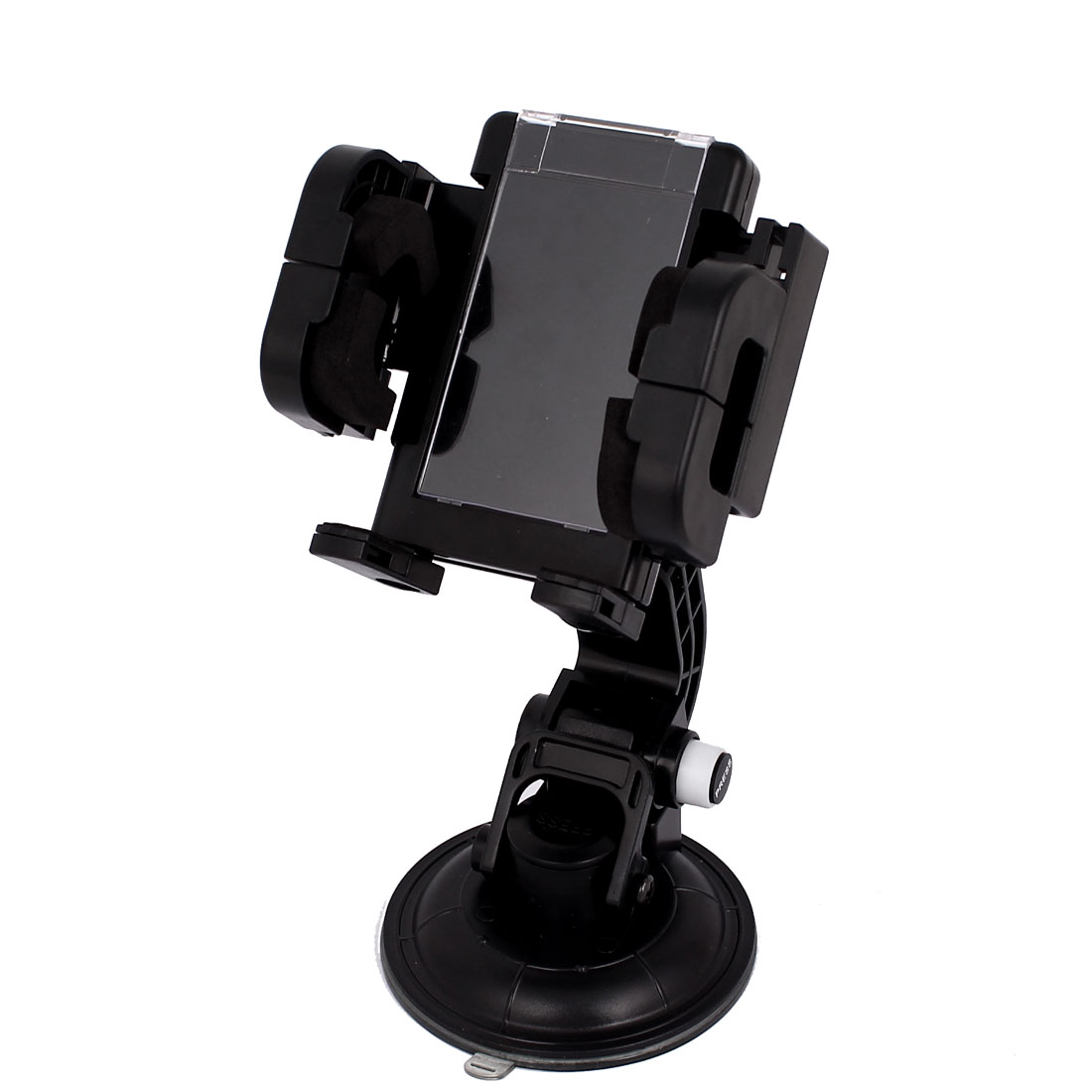 Auto Car Black Windscreen Mounted Cell Phone GPS Rotatable Holder