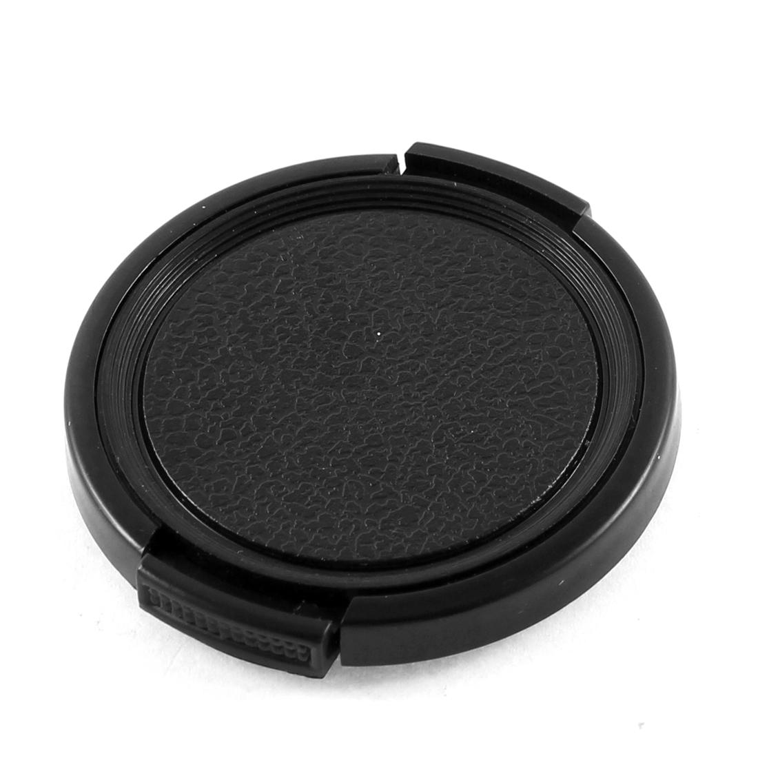 Black Front Cover Protector Camera Lens Cap 46mm Diameter