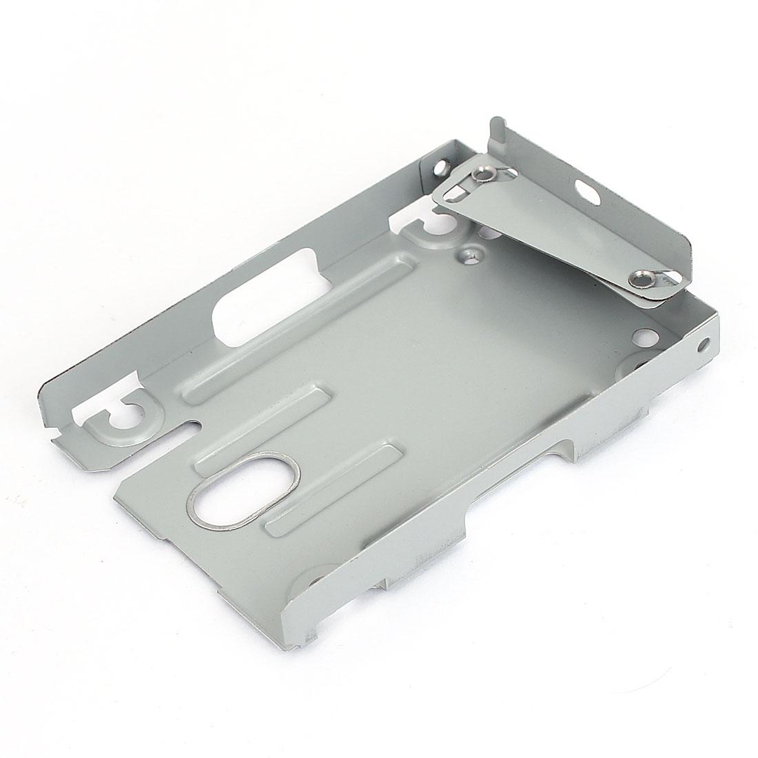 """2.5"""" Gray Aluminium Serial ATA Interface Adapter Hard Drive Bracket"""