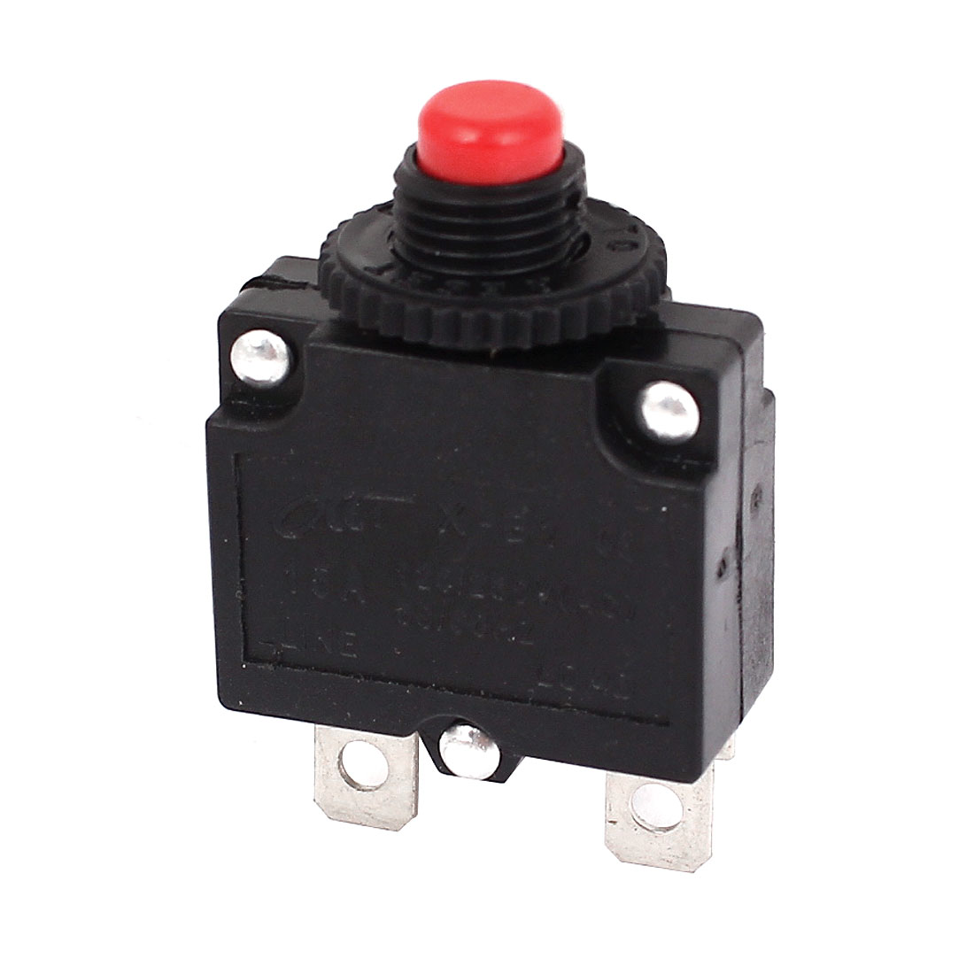 Air Compressor Red Button Circuit Breaker Overload Protector AC 125V/250V 15A