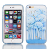 "Soft Plastic Trees Print Ultra Thin Case Cover Protector w Bumper Frame for Apple iPhone 6 Plus 5.5"" Dodger Blue"