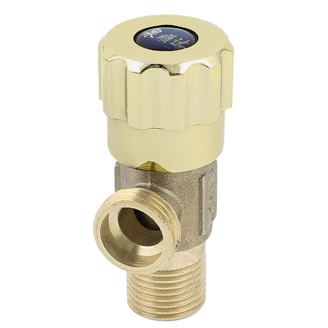 Kitchen Bathroom Brass Faucet 1/2BSP Male Thread Water Pipe Angle Valve