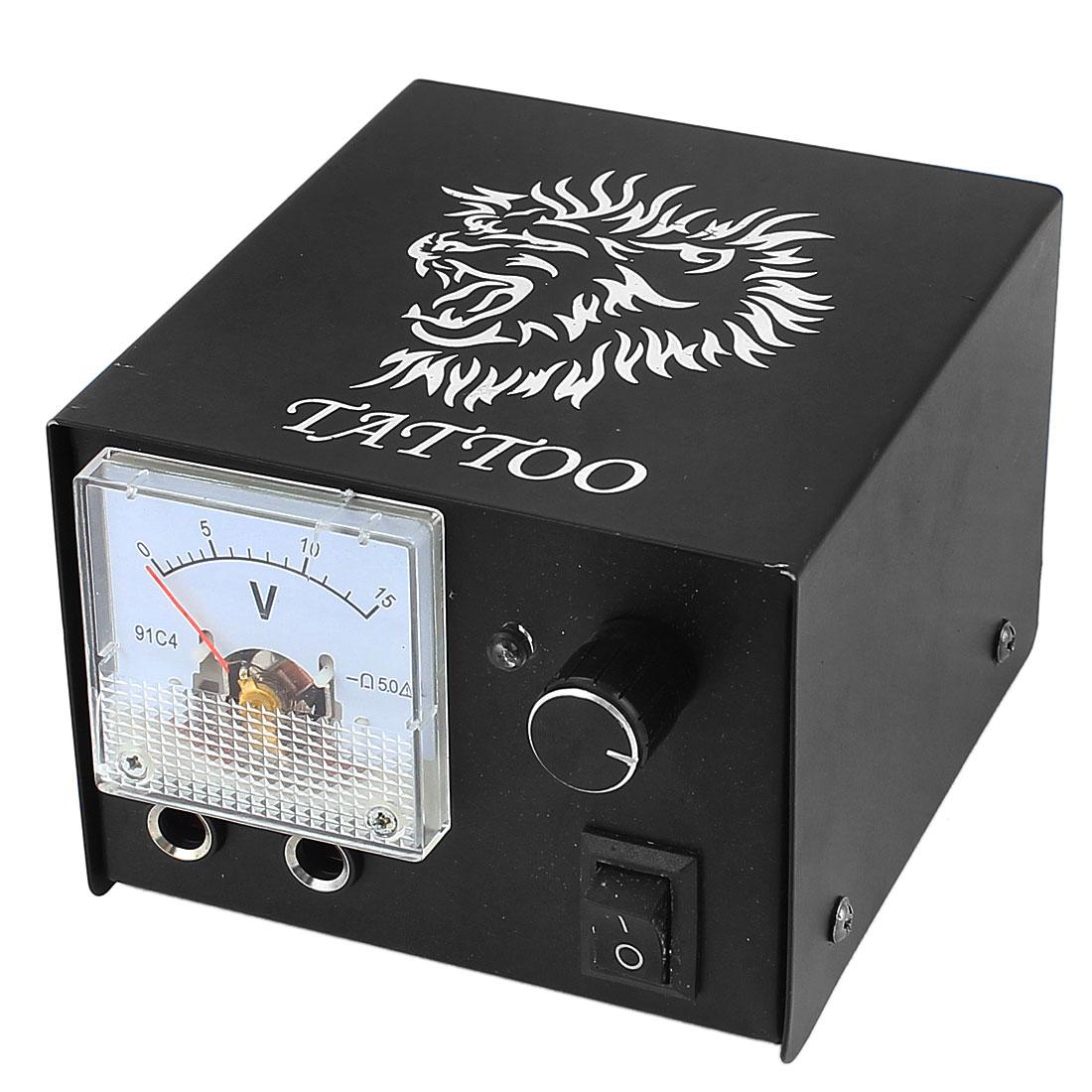 AU Plug AC 60-250V 10A Tattoo Machine Power Supply Kit w 1.5M Length Cord