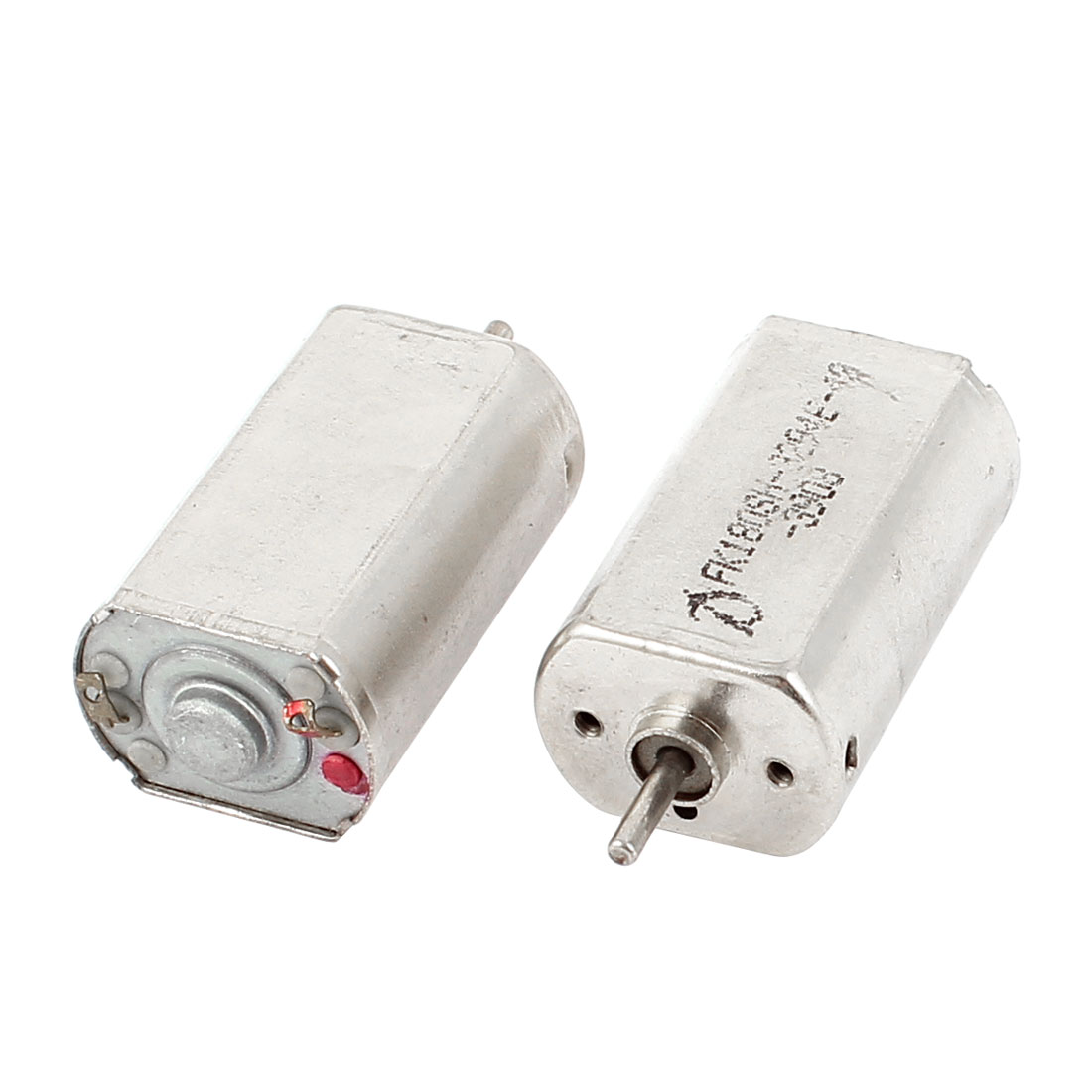 2 Pcs 3V 7300RPM 2mm Shaft Dia High Torque Mini DC Motor for DIY Toys
