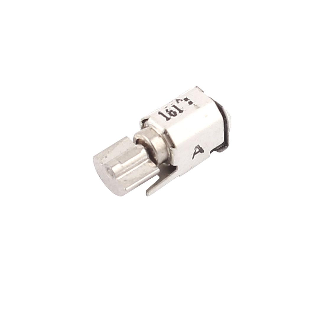 DC 1.5V/0.04A 3V/0.09A 1000RPM Mini Micro Vibration Motor Replacement