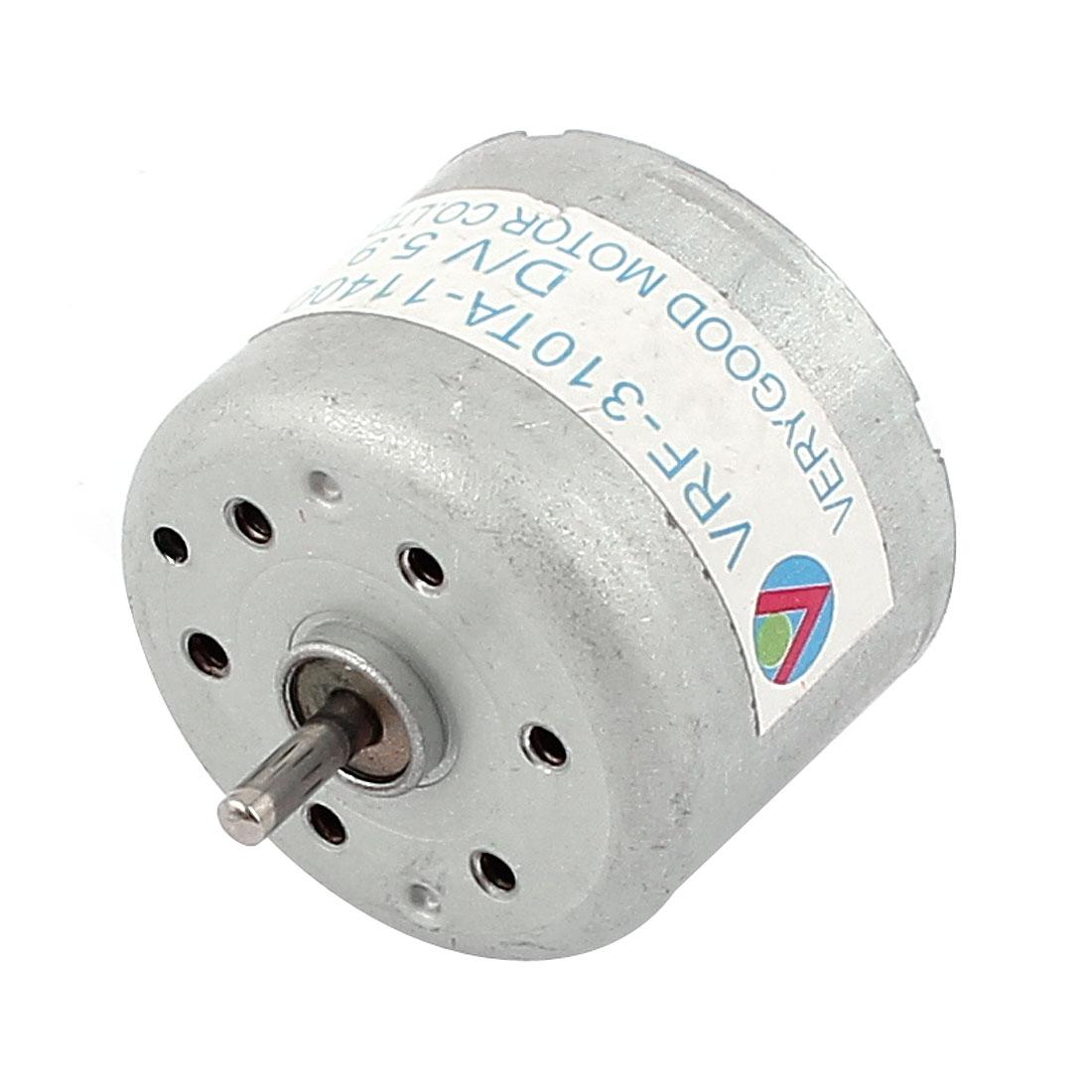 DC 3-6V 1500RPM Rotary Speed High Torque Mini Motor for Car Audio