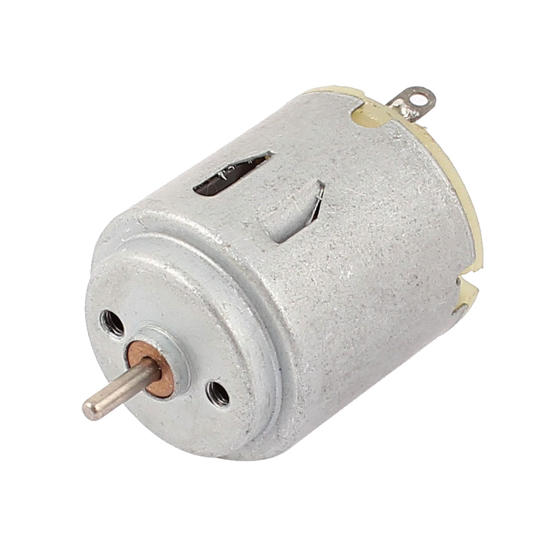 Round Type 6V 8000RPM 2mm Shaft Dia DC Motor for Smart Cars DIY Toys