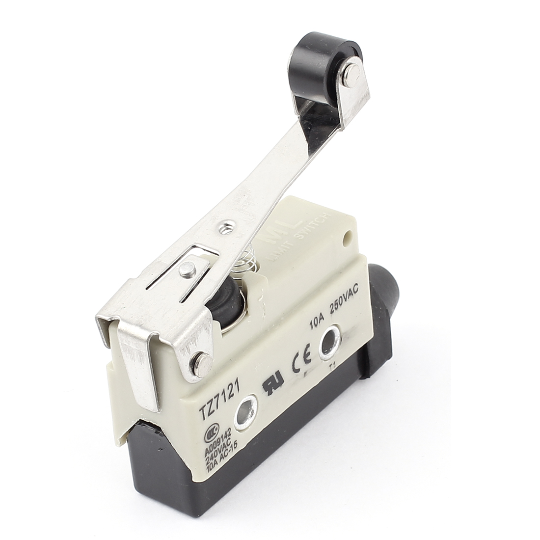 TZ7121 SPDT Momentary Micro Roller Lever Limit Switch AC 250V 10A