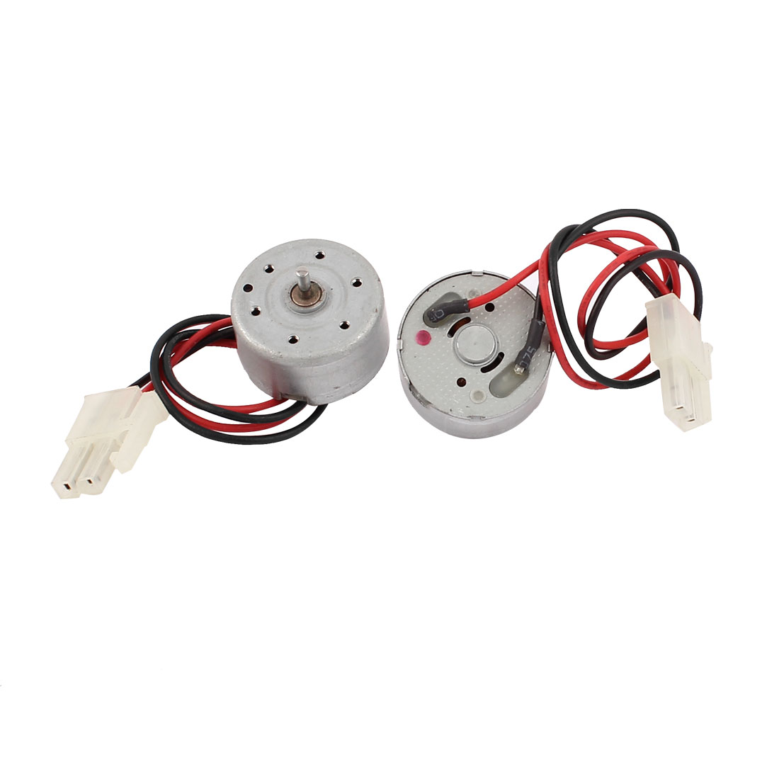 2 Pcs DC 2.4V 5100RPM Wire Lead Micro Mini Motor Repair Part for VCD DVD Player