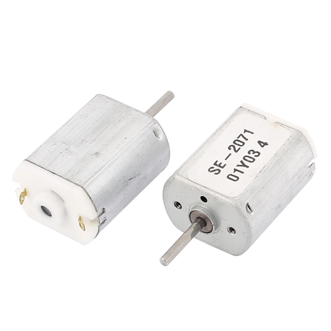 2 Pcs DC 1.5-4.5V 18000RPM High Torque Magnetic Micro Motor for RC Plane Ship Car