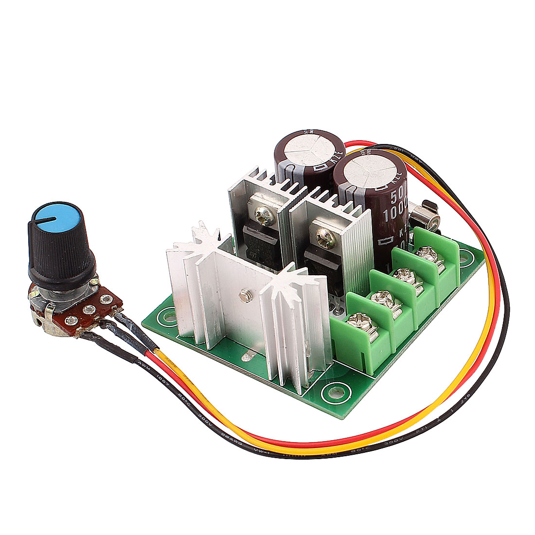 12V-30V 10A 120W PWM Adjustable DC Motor Speed Control Switch Controller