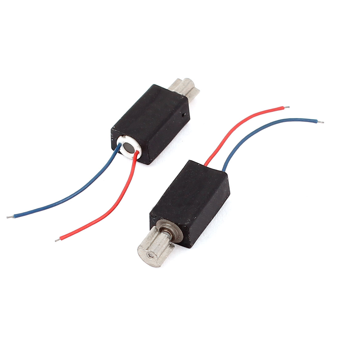 2 Pcs Electric Mini Micro Vibration Coreless Motor 8000RPM DC 1.3-7V for Phone