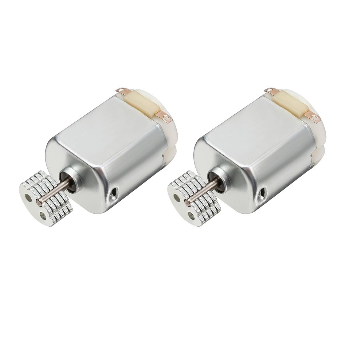 2 Pcs DC 1.5-4.5V 18000RPM Vibration Electric Micro Mini Motor for Massager