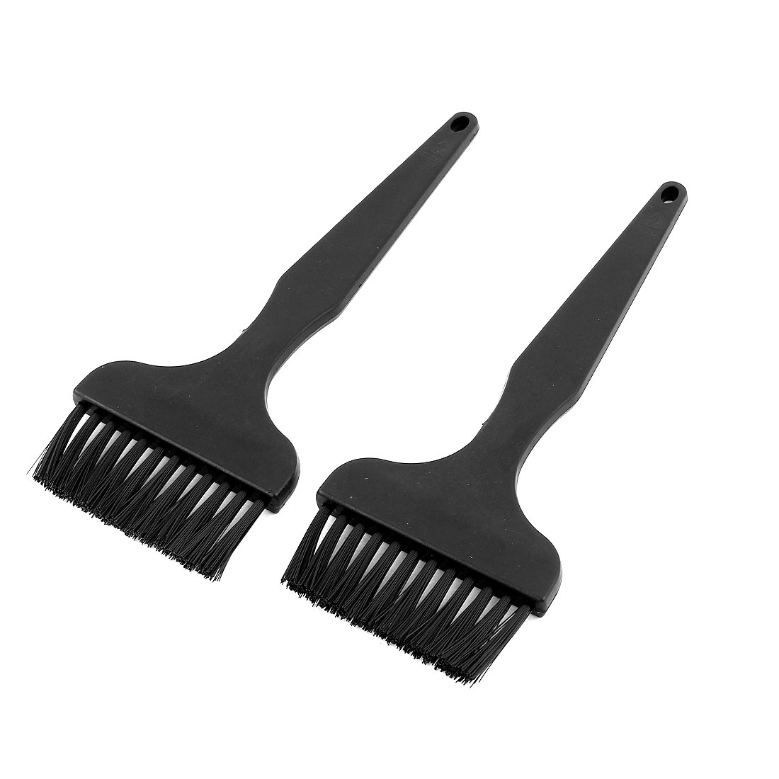 Plastic Portable Black ESD Cleaning Anti Static Brush 2 Pcs