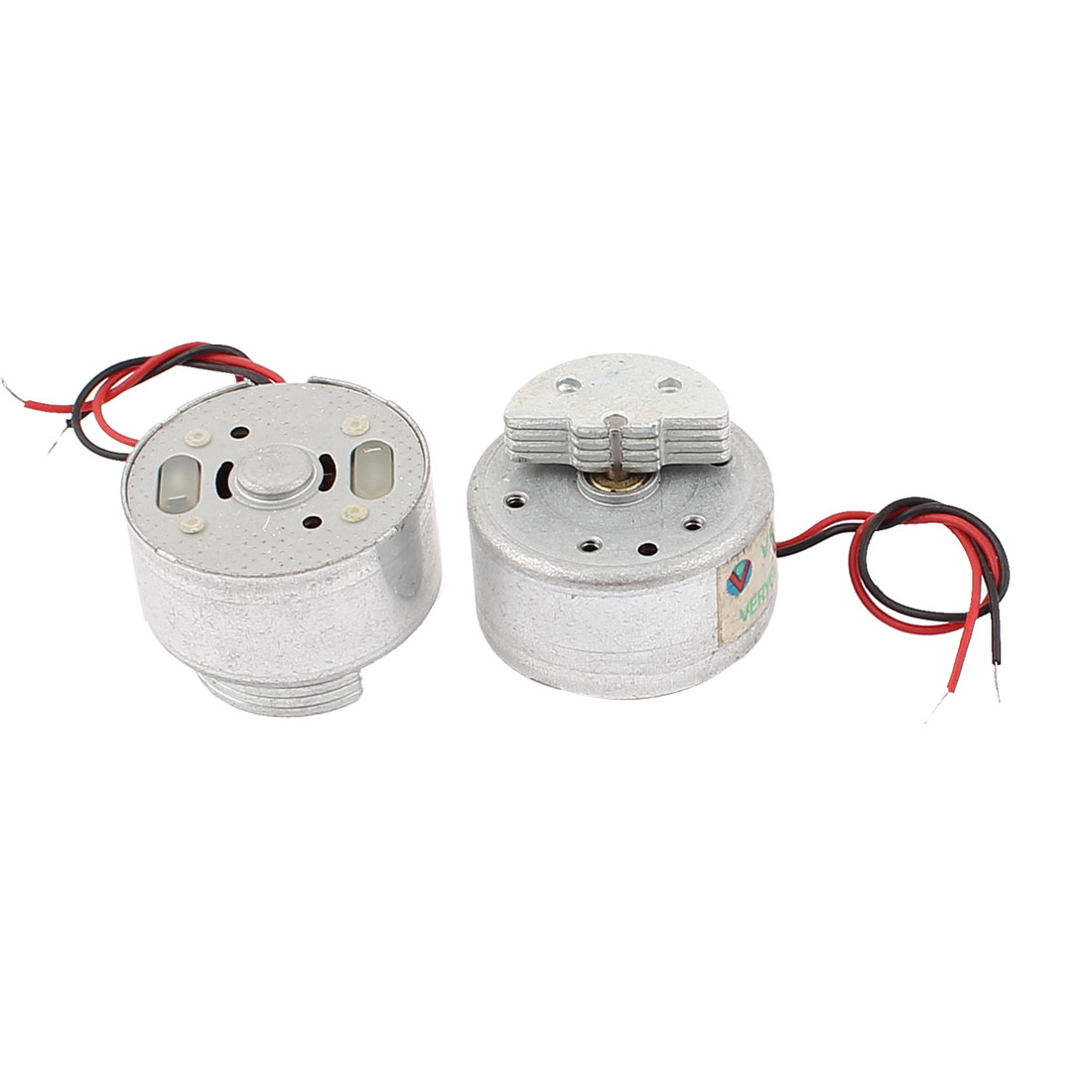 2 Pcs DC 1.5-3V 2700RPM Torque Magnetic Mini Vibration Motor for CD DVD Player
