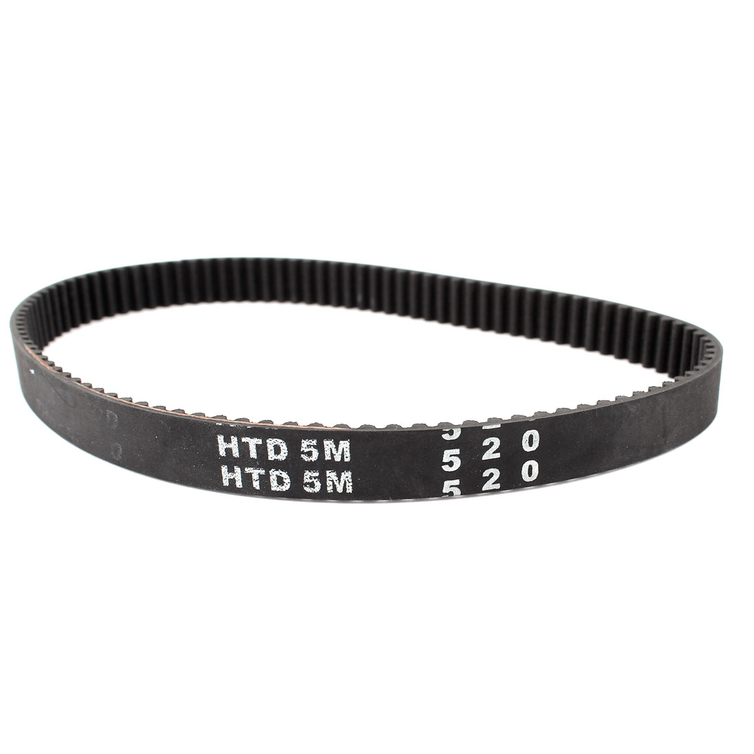 5M520 Type 5mm Pitch 104 Teeth Black Single Sided Groove Synchronous Industry Timing Belt