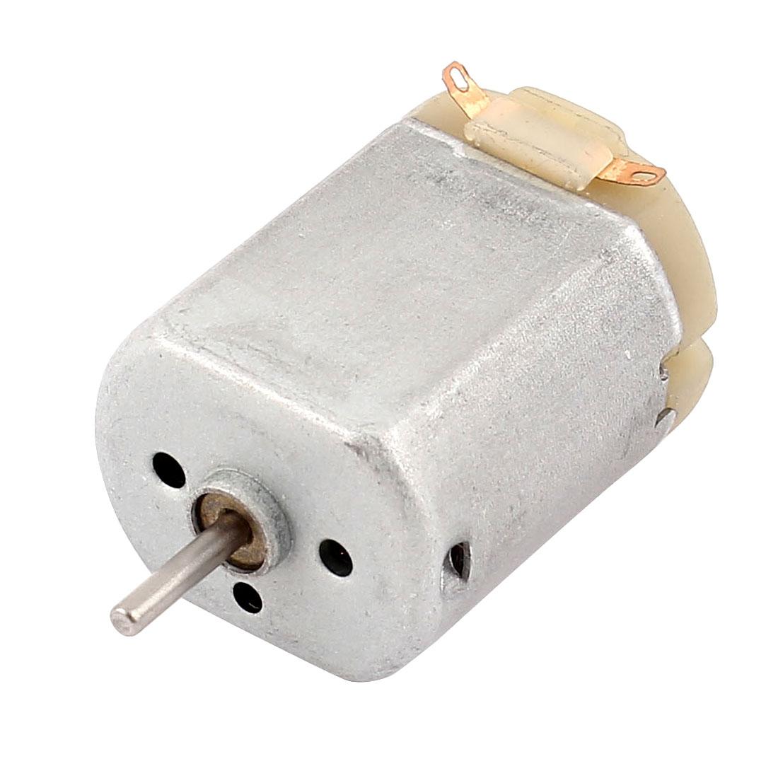 2mm Shaft DC 6-12V 11090RPM Electric Mini Motor for Cars DIY Toys