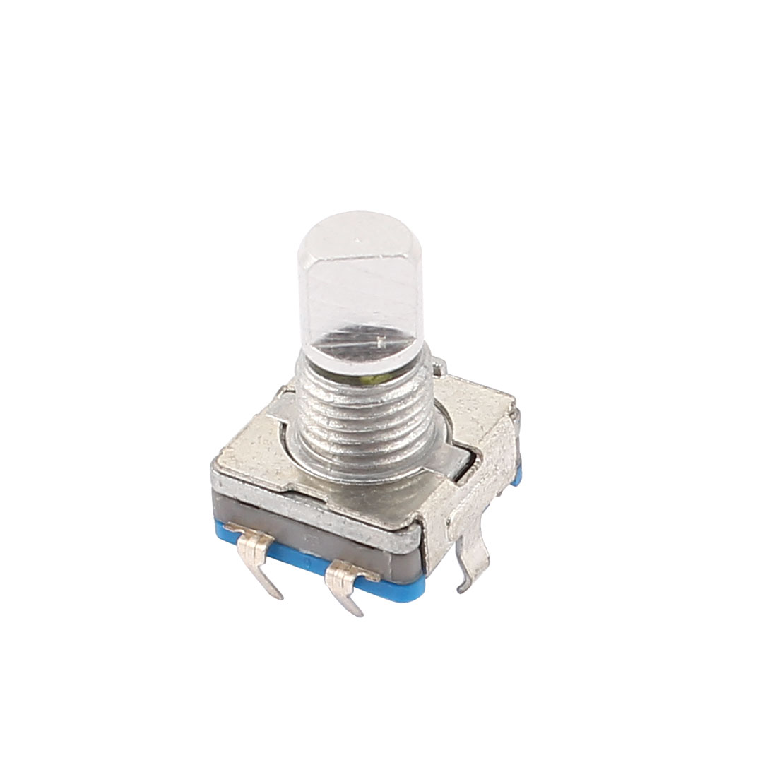 5Pins 20 Detent Points 360 Degree 6mm Shaft Push Button Rotary Encoder Switch