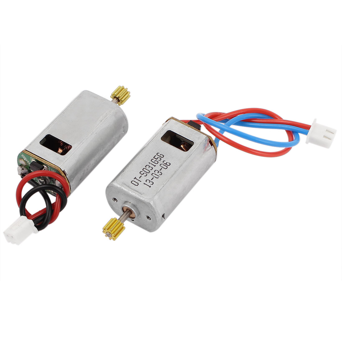 2 Pcs DC 7.4V 74000RPM Electric Toys Motor Repair Parts for Syma SO31G RC Airplane