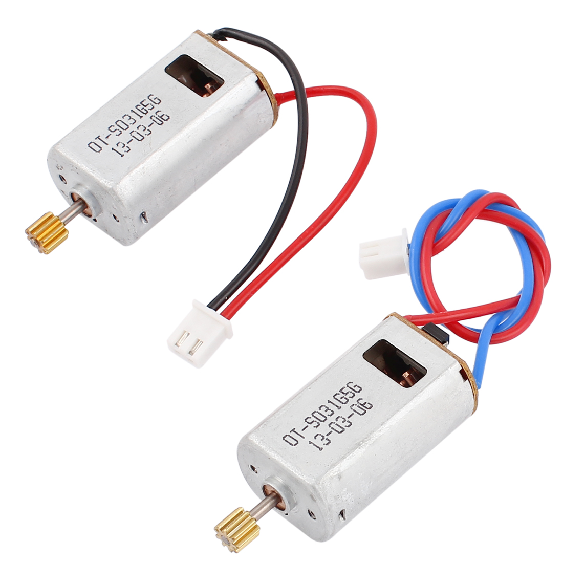 2 Pcs DC 7.4V 74000RPM Electric Toys Motor Replacement for Syma SO31G RC Airplane