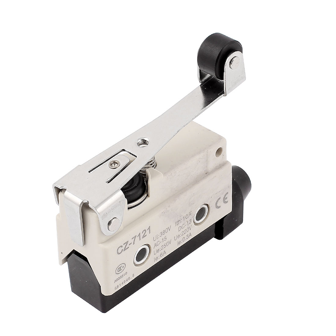 CZ-7121 SPDT Momentary Short Roller Arm Micro Limit Switch Snap Action