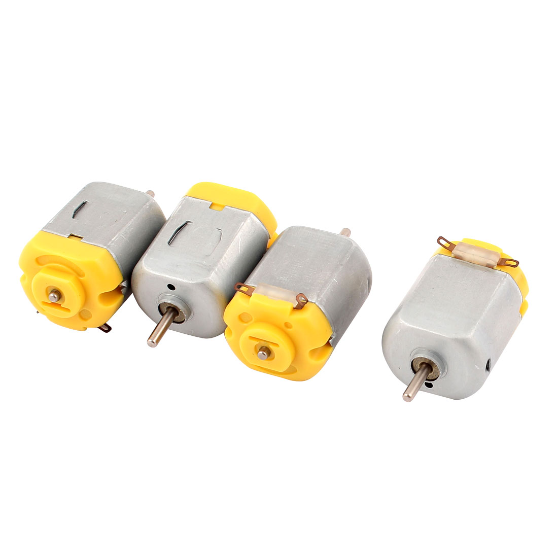 4 Pcs DC 6V 12500RPM Rotary Speed Magnetic Mini Motor for DIY Toy