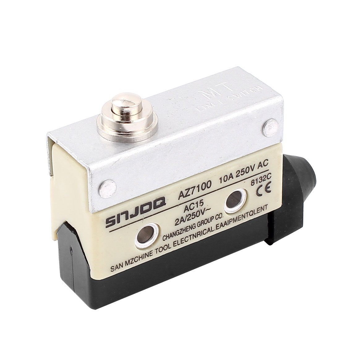 AZ7100 Plunger Type SPDT Momentary Micro Limit Switch AC 250V 10A