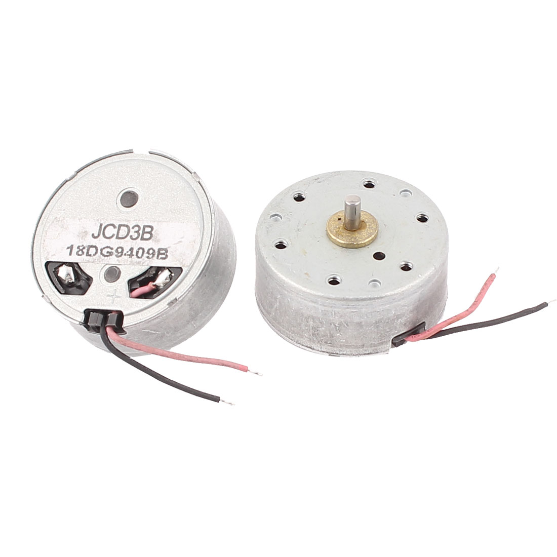 2 Pcs DC 1.5-4.5V 3200RPM Electric Mini Motor Repair Parts for CD DVD Player