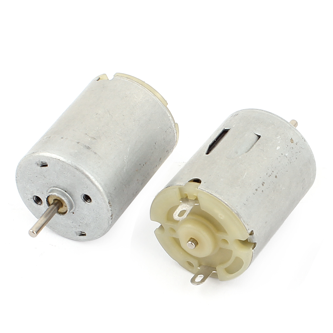 2 Pcs DC 3-9V 8700RPM High Speed 2mm Shaft Dia Cylinder Shaped Micro Electric Motor