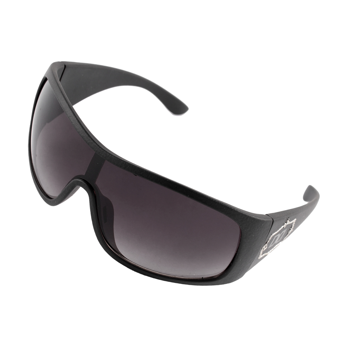 Plastic Frosted Men Outdoor Sports Sunglasses Driving Eyewear Black