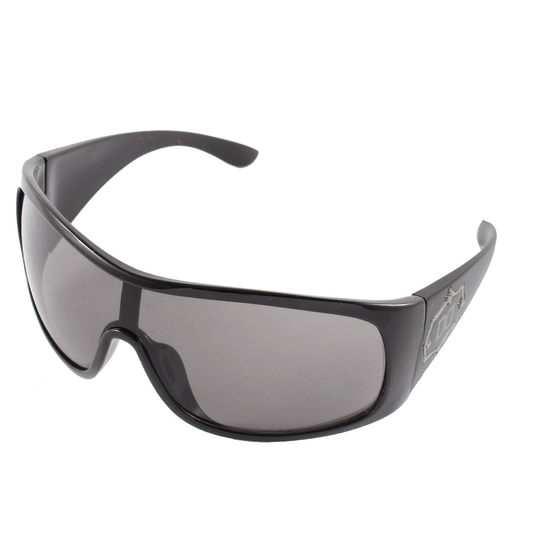 Frosted Full Rim Sun Protecting Eyewear Sunglasses Spectacles Black