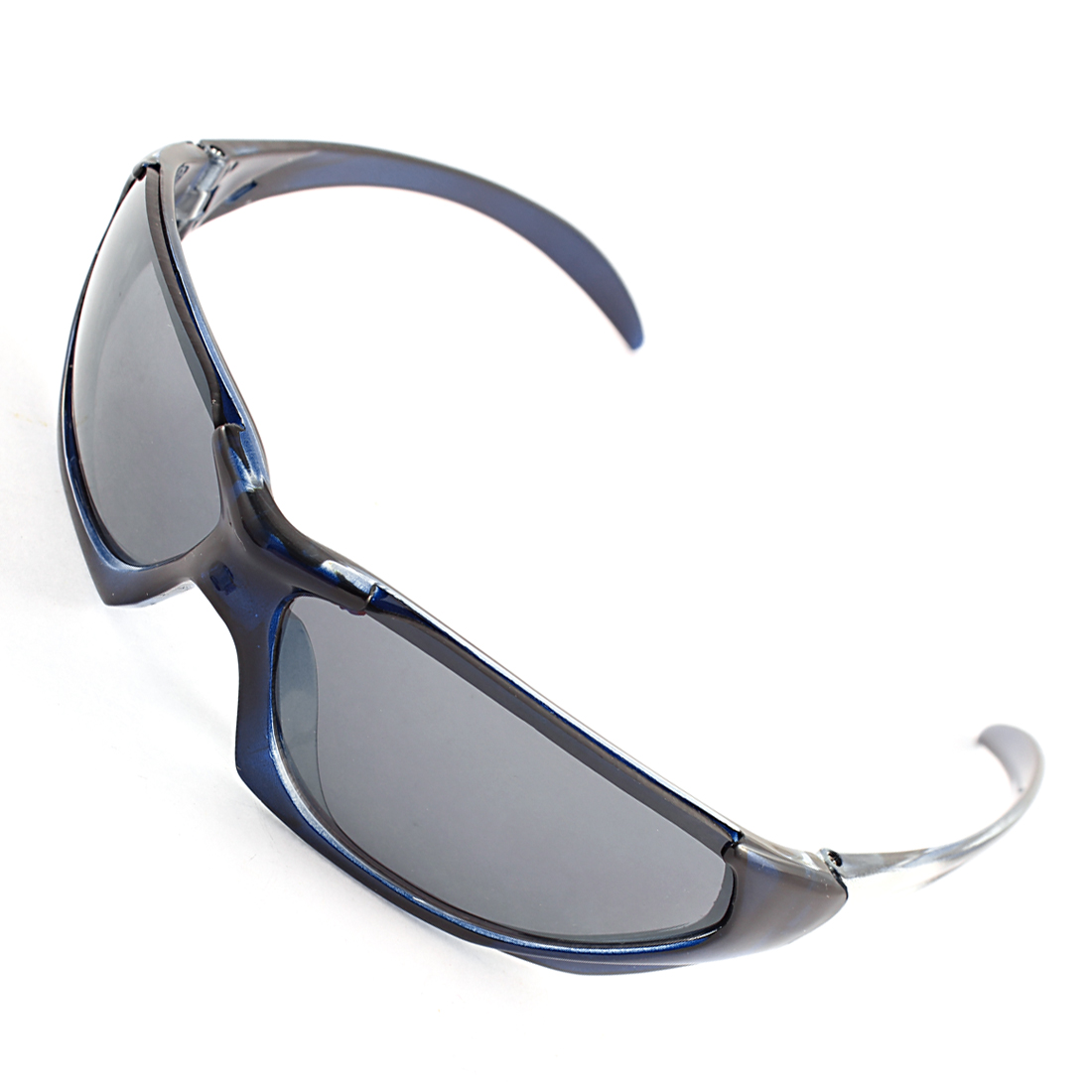 Men Full Rim Single Bridge Colored Sunglasses Outdoor Driving Eyewear