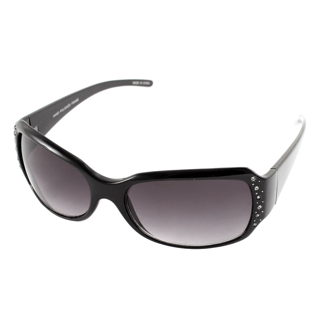 Lady Outdoor Driving Sun Protective Glasses Sunglasses Eyewear Black