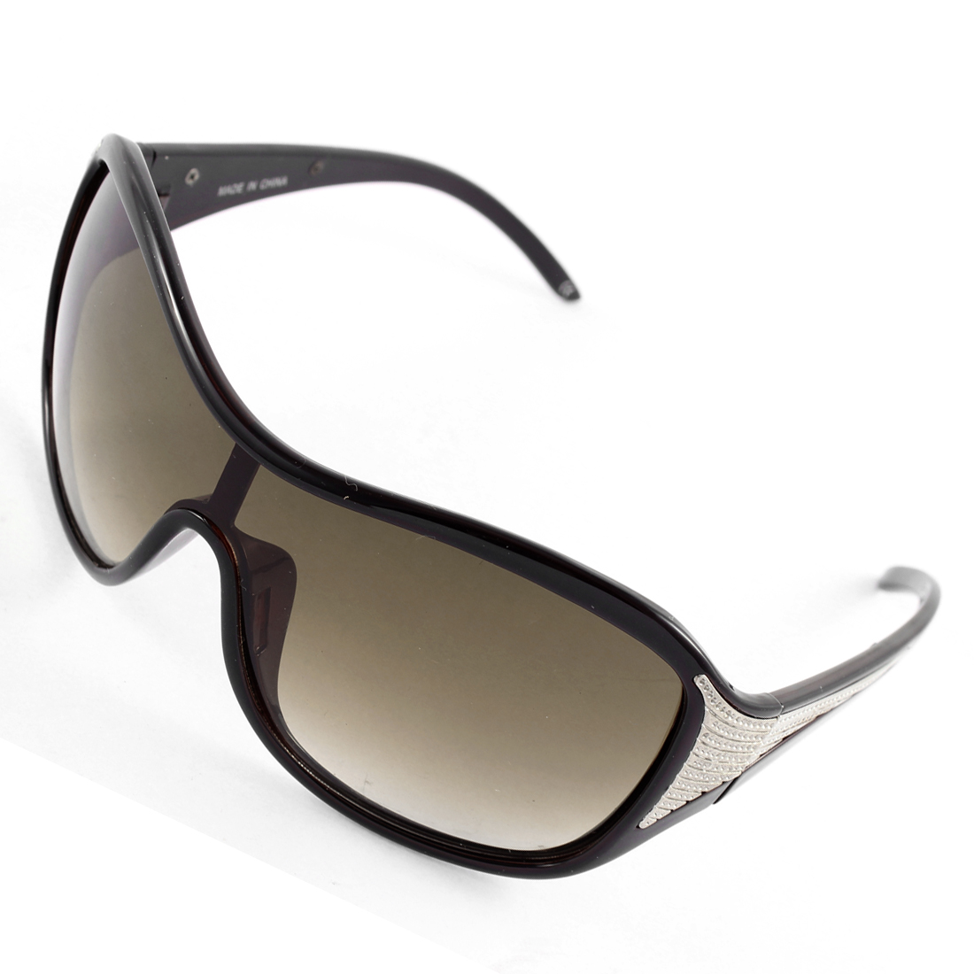 Retro Stylish Full Rim Lady Sunglasses Sun Protection Eyewear Black