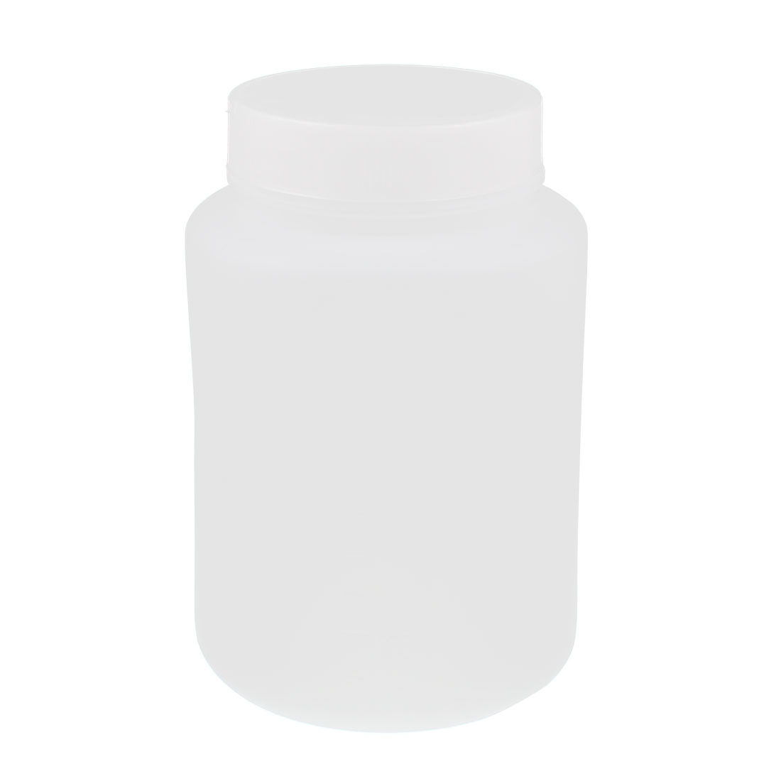 Lab Screw Lid Wide Mouth Plastic Chemicals Storage Reagent Bottle 250mL