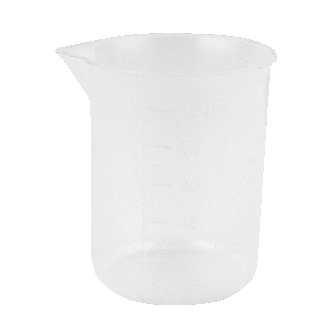 Lab Laboratory Chemistry Graduated Clear Plastic Water Liquid Measuring Container Testing Beaker 100mL
