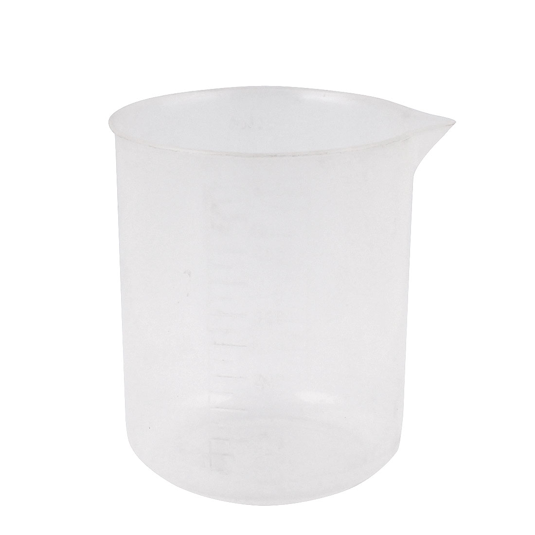 Lab Laboratory Chemistry Graduated Clear Plastic Water Liquid Measuring Container Testing Beaker 500mL