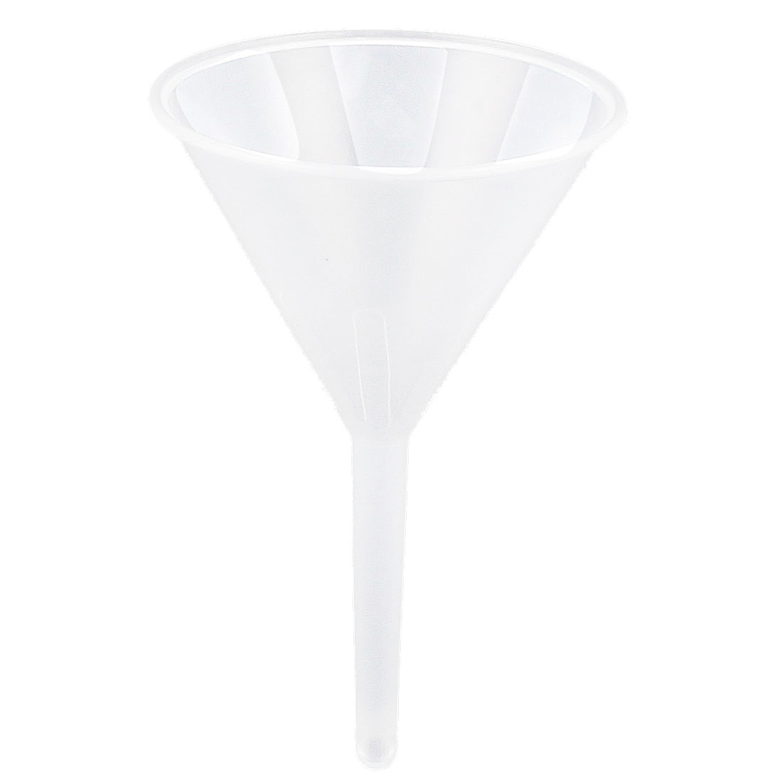 Lab Laboratory Experiment 90mm Dia Mouth Clear White Plastic Liquid Water Filter Funnel