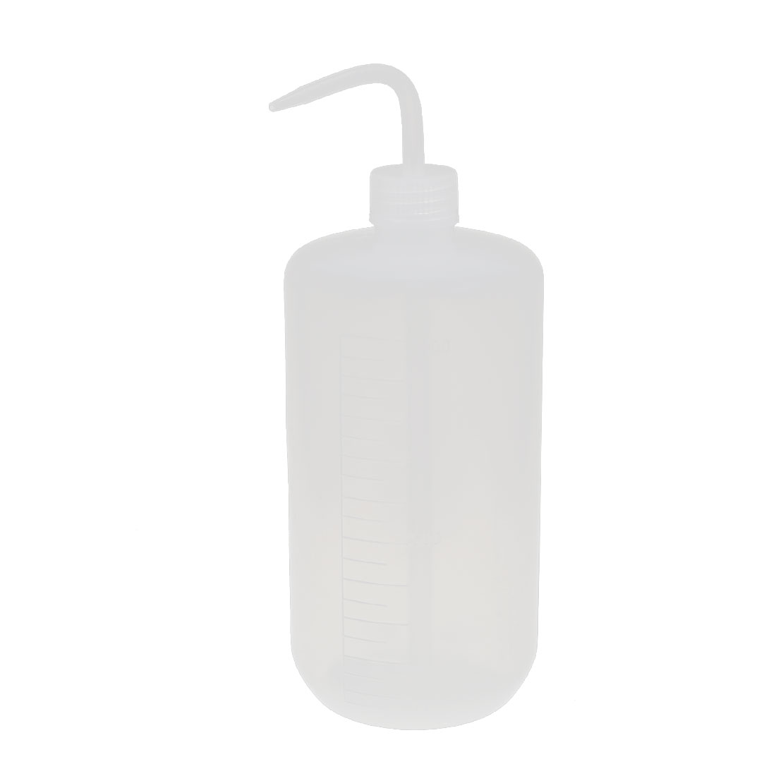Lab Laboratory Right Angle Bent Tip Plastic Oil Chemical Liquid Water Storage Squeeze Bottle Dispenser 1000mL